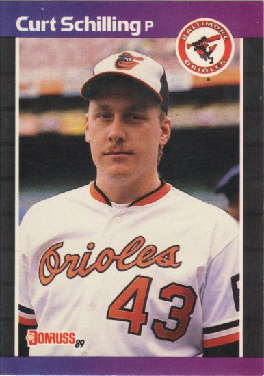(15) Curt Shilling Orioles Cards