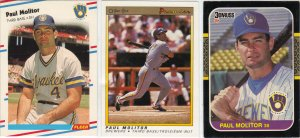 (3) Paul Molitor Cards
