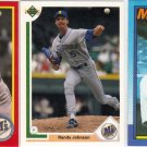 (11) Randy Johnson Cards