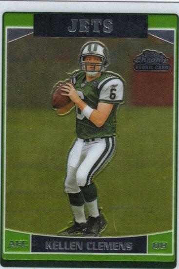 2006 Kellen Clemens Topps Chrome RC Jets