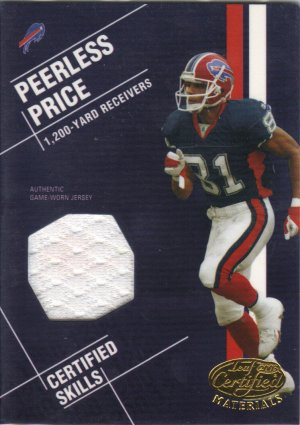 2003 Peerless Price Leaf Certified Materials 067/100
