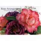 Rose Arrangements - Set of 20 Floral Notecards and Envelopes