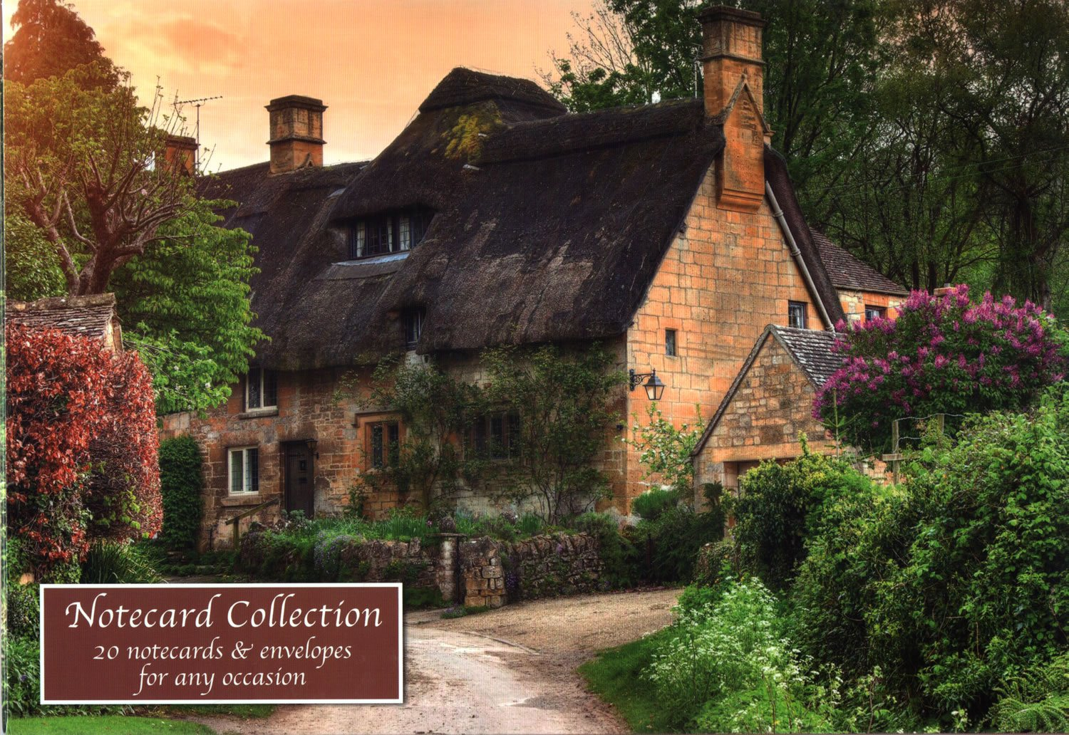 English Country Cottages Notecards and Envelopes Set of 20