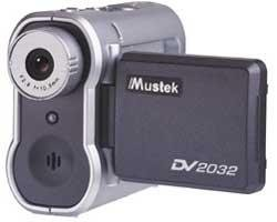 Mustek DV2032 2MP 32MB Digital Camera,Camcorder
