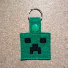 MC Green Guy Felt Key Ring