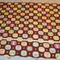 Flannel Baby Blanket - Qwls on Brown background