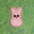 Pink Bunny Peep Feltie