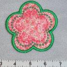 Pink Floral Flower Coaster