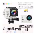 Waterproof 2.0'' LCD Ultra 4K 120 Wide Angle Lens WiFi Sports Action DV Camera