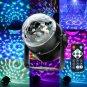 Multi-application Multi-function Mini RGB LED Magic Crystal Ball Light Party Disco Lights