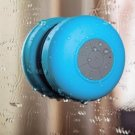 Mini HIFI Waterproof Wireless Bluetooth Handsfree Mic Suction Speaker Shower Car