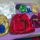 Satin Ita Bag & Caracol/Cowrie Shell Bag Set for Orisha