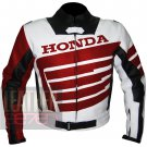 Best Option For Professional BIKE Racers .. Cowhide leather Honda 9019 Red Jacket