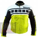 New Collection Of Pure Cowhide Leather Jackets .. Yamaha 6728 Fluorescent