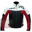 Yamaha R6 Red Pure Cowhide Leather Motorcycle Safety Jacket By ButtCo Group