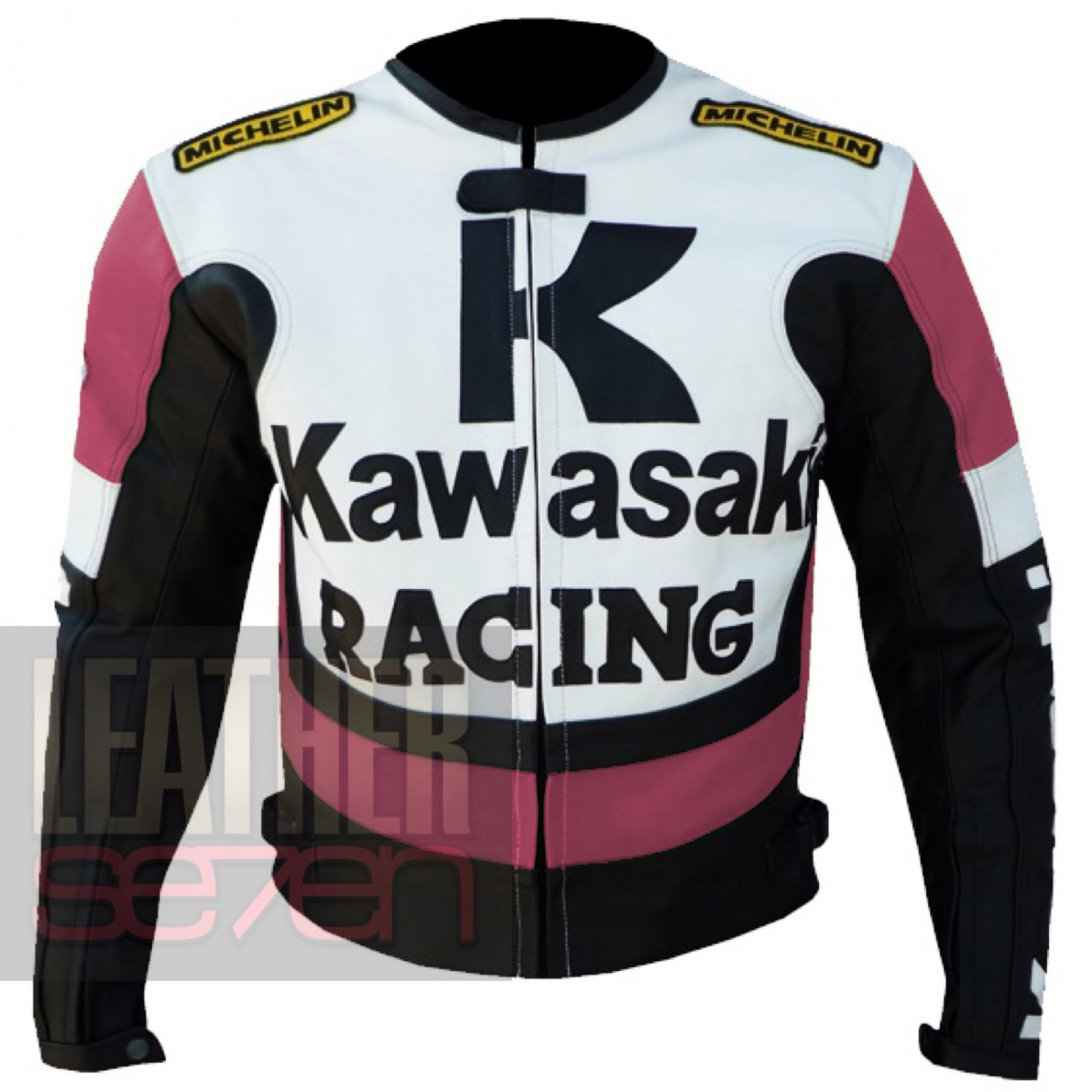 New Arrival Coats For Ladies .. Kawasaki 1 Pink Leather Jackets For Women
