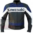 Best Quality Biker Jacket For Bikers .. Kawasaki 2020 Blue Racing Coat
