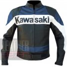 Cowhide Heated & Safety Coats For Bikers . Kawasaki 2020 Navy Blue Jacket