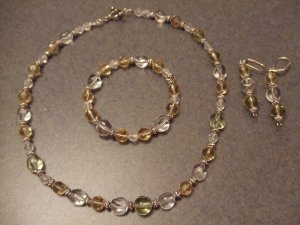 old time necklace set