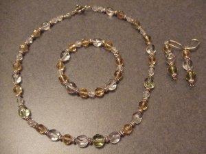 old time necklace set