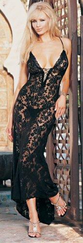 2 Piece Spanish Lace Long Dress