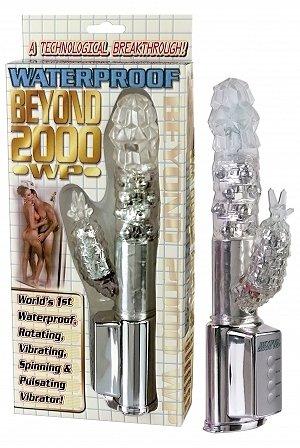 Beyond 2000 Waterproof Multi-Vibe - Clear