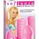 Softeaze Bullet & Sleeve Set - Pink