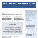 Small Business Client Newsletter
