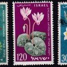 Israel: Scott Catalog 157-9 Used