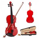 "New 14"" Student Viola With Case, Bow and Rosin ~ Red"