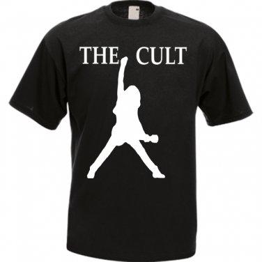 The Cult Band Punk Rock Music Awesome Unique Black Men�s T-Shirt S-2XL Size