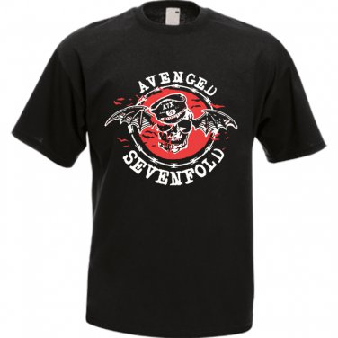 A7X Avenged Sevenfold Waking The Fallen Black T-Shirt music rock band