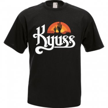 KYUSS BLACK WIDOW STONER ROCK QUEENS OF THE STONE AGE T-SHIRT