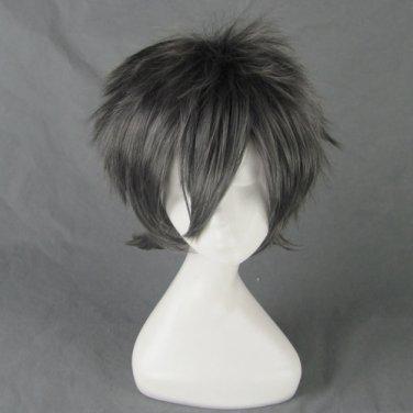 togainu no chi AKIRA Zankyou no Terror TWELVE black gray short anime cosplay wig