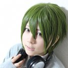 hori-san to miyamura-kun Shu Iura short olive green anime cosplay party full wig