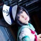 TouHou project Murasa Minamitsu short black anime cosplay party full wig