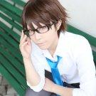 ACE of Diamond miyuki kazuya short brown anime cosplay party full wig