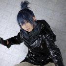 Future City NO.6 Nezumi short blue grey anime cosplay party full wig