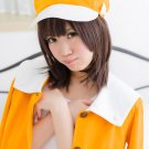 Monogatari Series Sengoku Nadeko short brown 45cm anime cosplay party full wig