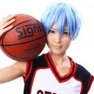 Kuroko Tetsuya Kuroko No Basketball ice blue gradual short cosplay wig