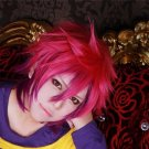 no game no life Sora mix color anime cosplay party full hair wig