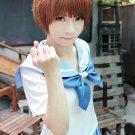 kill la kill Mankanshoku Mako short brown anime cosplay party full hair wig
