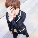 chuunibyou demo koi ga shitai Togashi Yuta short brown anime cosplay party full hair wig