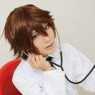 Kakumeiki Valvrave Tokishima Haruto Sawada Tsunayoshi short brown anime cosplay party full hair wig