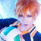 Haikyuu hinata shyouyou orange anime cosplay short wig