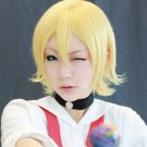 Sket Dance Kagamine Rin short blonde anime cosplay party full hair wig