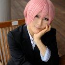 Uta no Prince-sama  Ringo Tukimiya male ver short pink cosplay wig