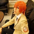 Angel Beats OtonashiYuzuru short orange cosplay wig