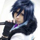 Ichinose Tokiya short black blue anime cosplay full wig + wig cap