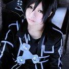Sword Art Online Kirigaya Kazuto short black cosplay anime full hair wig